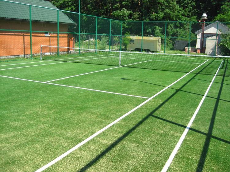Теннисный корт на даче своими руками 63