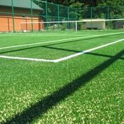 Укладка искусственной травы на теннисный корт в Иванковичах