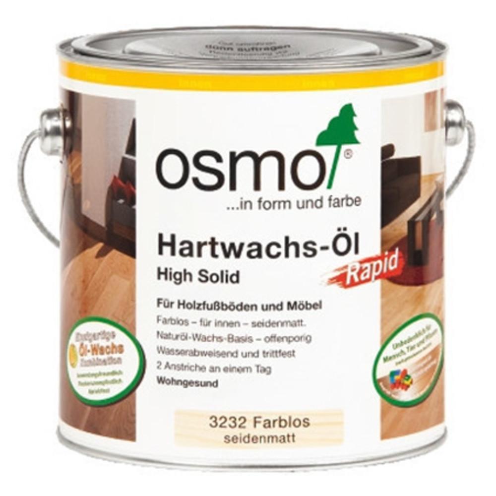 Масло с твердым воском с ускоренным временем высыхания Osmo Polyx Hartwachs-Ol Rapid