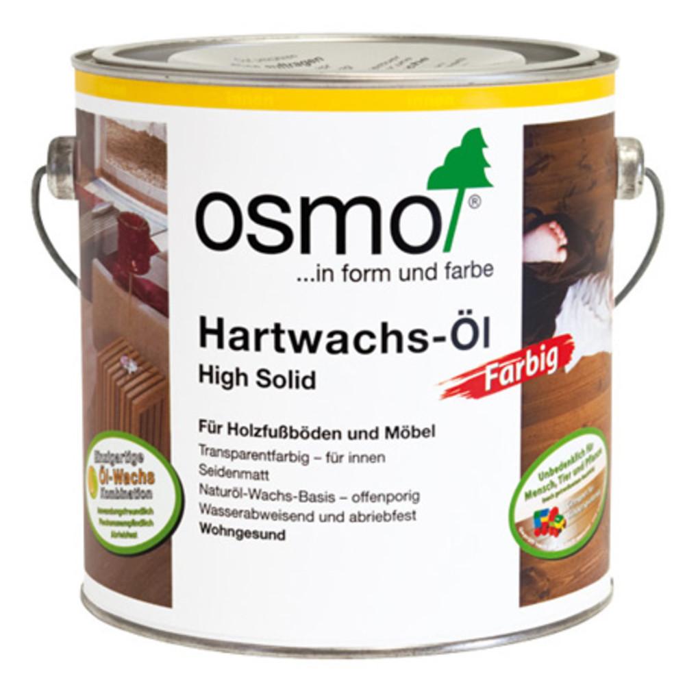 Масло с твердым воском цветное Osmo Hartwachs-Ol Farbig