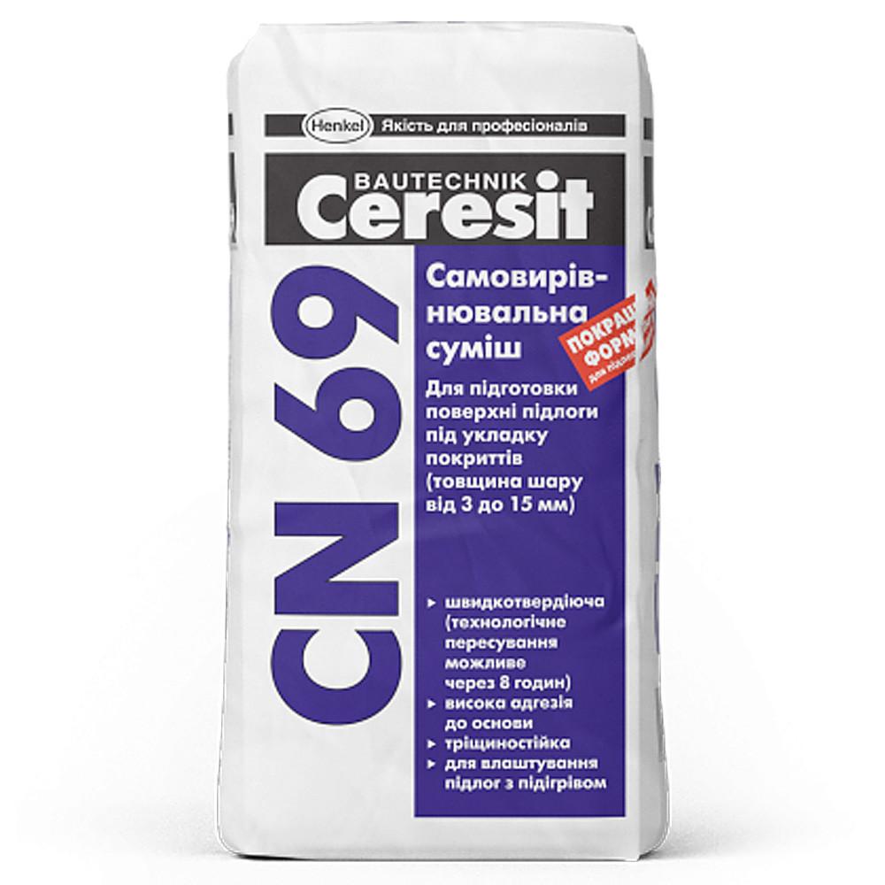 Ceresit CN 69 Самовыравнивающая смесь