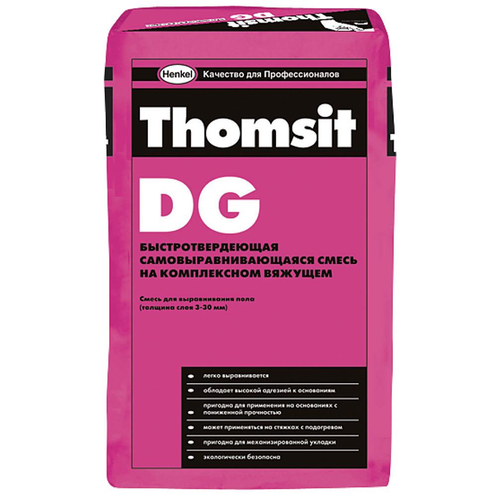 Thomsit DG Самовыравнивающая смесь