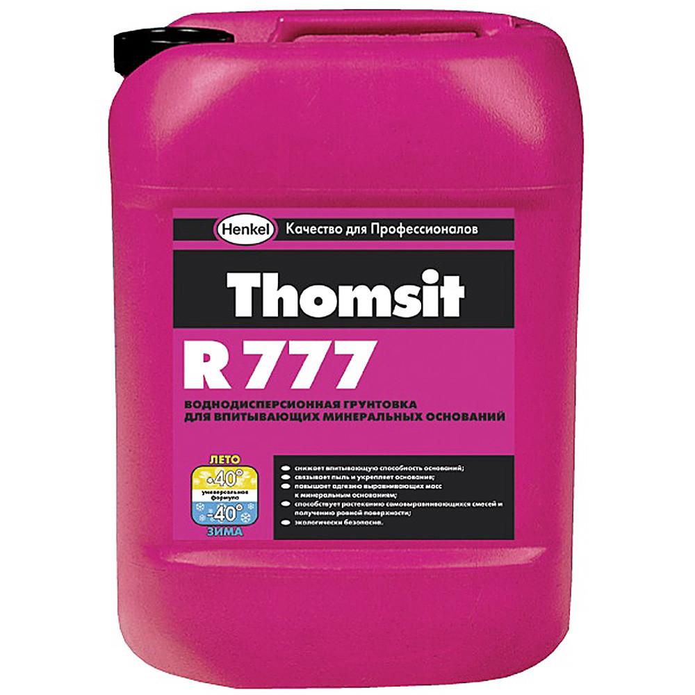 Thomsit R 777 Грунтовка глубокого проникновения для впитывающих минеральных оснований