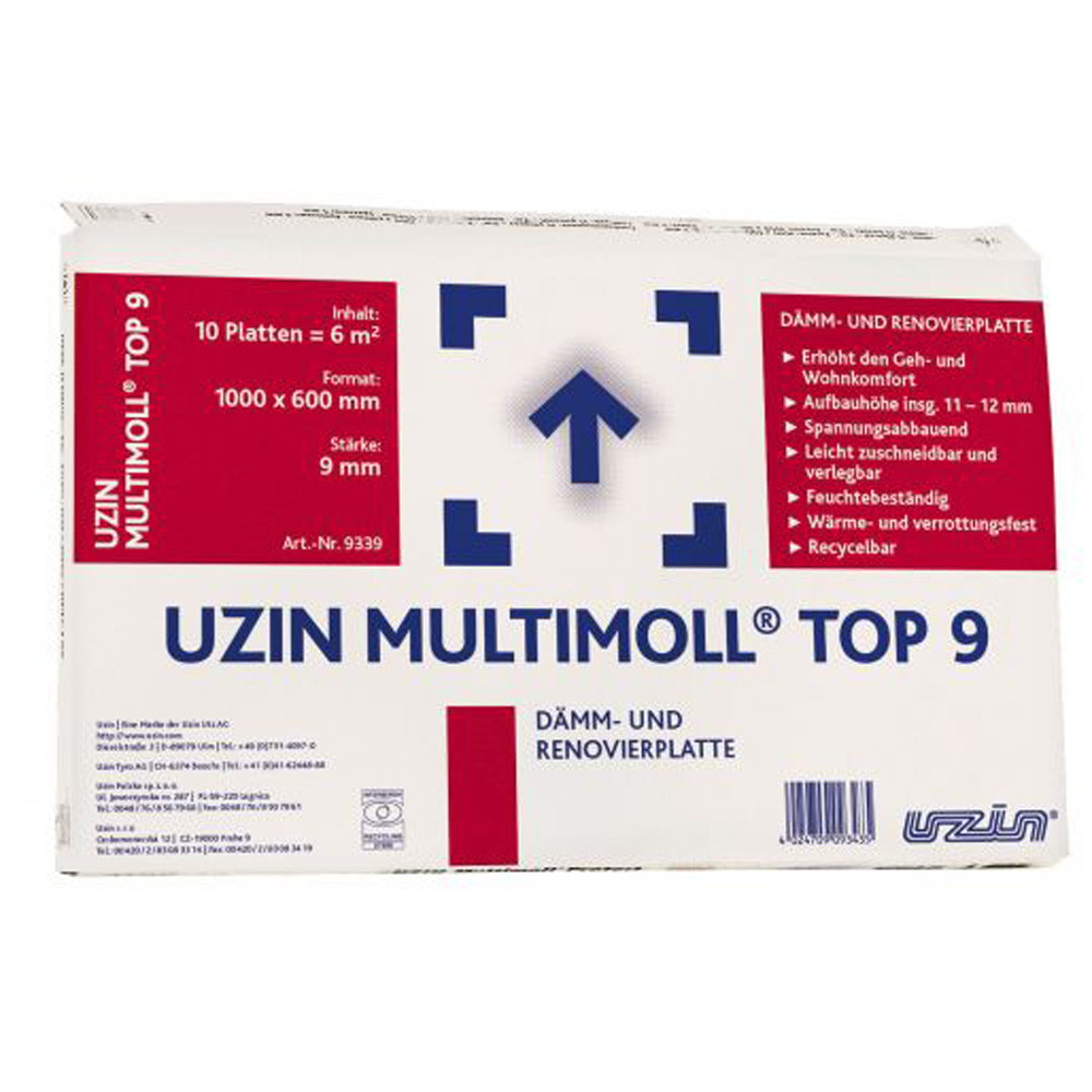 Изоляционная/разделительная подложка Uzin Multimoll Top9