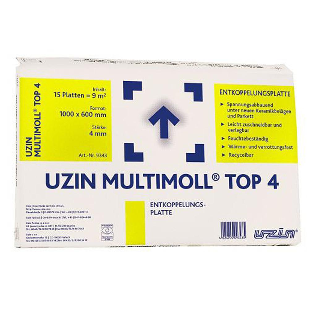 Изоляционная/разделительная подложка Uzin Multimoll Top4
