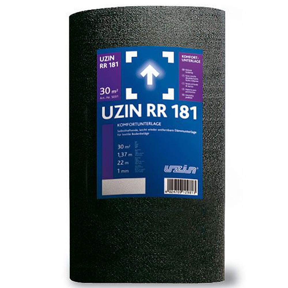 Тепло- и звукоизоляционная подложка Uzin RR 181