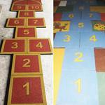 Дизайнерская резиновая плитка Укрплит-Арт Дизайнерская резиновая плитка Укрплит-Арт Цвет-3