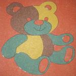 Фото Дизайнерская резиновая плитка Укрплит-Арт Цвет-0
