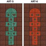 Фото Дизайнерская резиновая плитка Укрплит-Арт Цвет-6
