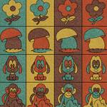 Фото Дизайнерская резиновая плитка Укрплит-Арт Цвет-10