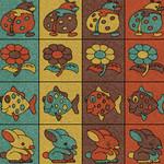 Фото Дизайнерская резиновая плитка Укрплит-Арт Цвет-12