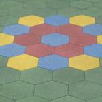 Фото Резиновая плитка Ecoguma Ecoform Цвет-5