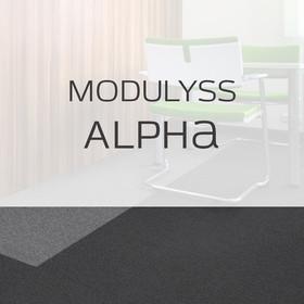Фото Ковровая плитка Modulyss Alpha