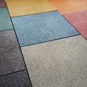 Резиновые покрытия для детских и спортивных площадок