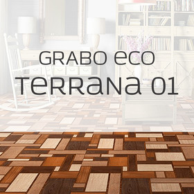 Бытовой линолеум Бытовой линолеум Grabo Terrana 01 eco