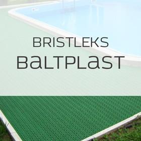 Грязезащитные покрытия Щетинистое покрытие Bristleks - Baltplast